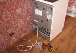 Подключение электроплиты. Элистинские электрики.
