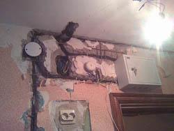 Замена электропроводки в Элисте