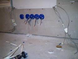 Электромонтажные работы в квартирах новостройках в Элисте. Электромонтаж компанией Русский электрик