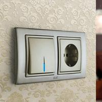 Установка выключателей в Элисте. Монтаж, ремонт, замена выключателей, розеток Элиста.